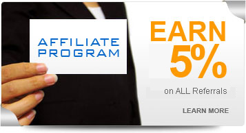 Earn 5% on ALL Referrals
